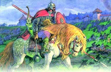 Был богатырь святогор, был дар у него - силища неописуемая, горы мог свернуть, земля его не могла носить